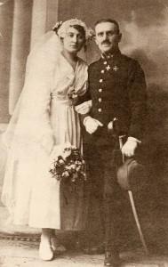 Hochzeitsfoto Julius und Irma Duhl